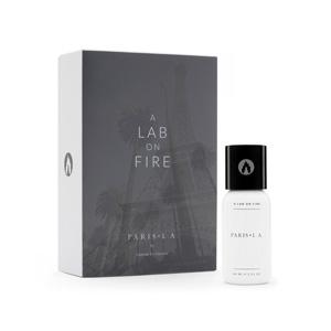Perfume Paris LA de A lab on fire.
