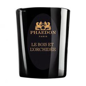 Vela aromática Le Bois & L'Orchidée de Phaedon